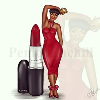 lipstick_girl_art_africanistablog