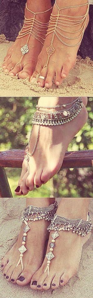 boho feet