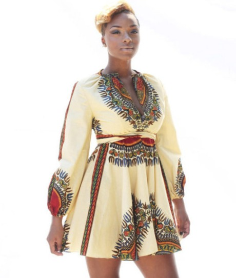 ashikere afana - dashiki dress