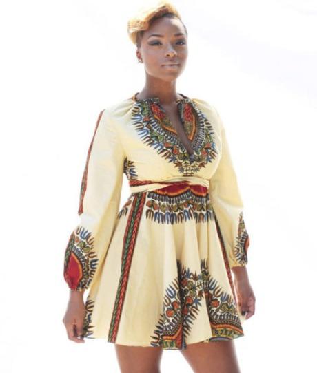 ashikere afana - dashiki dress