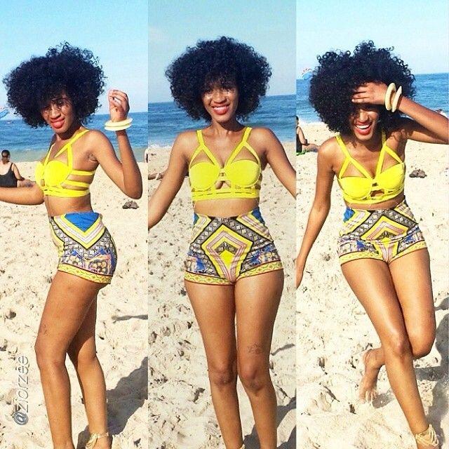 african-print-shorts